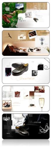directeur artistique - planche créative luxe chaussure