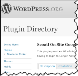 plugin pour google analytics avec wordpress