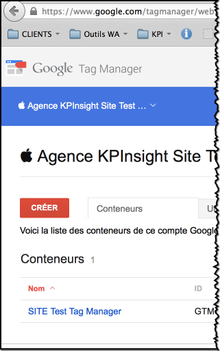 Tester google tag manager, demo google tag manager
